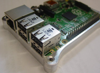 Raspberry Pi B+ Case Bottom Half 1