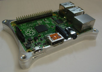 Raspberry Pi B+ Case Bottom Half 2
