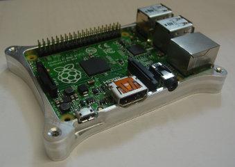 Raspberry Pi B+ Case Bottom Half 2