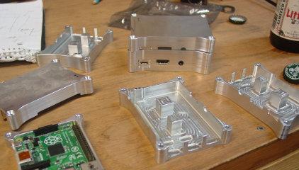 Raspberry Pi B+ Case Prototype Complete 1