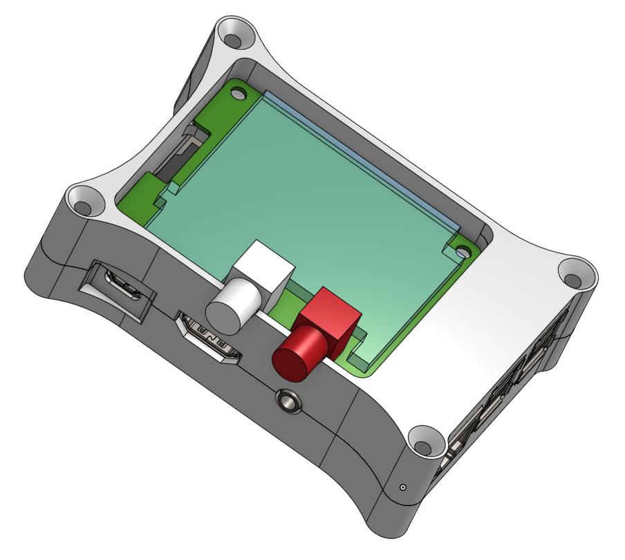 HifiBerry DAC+ Case View 2