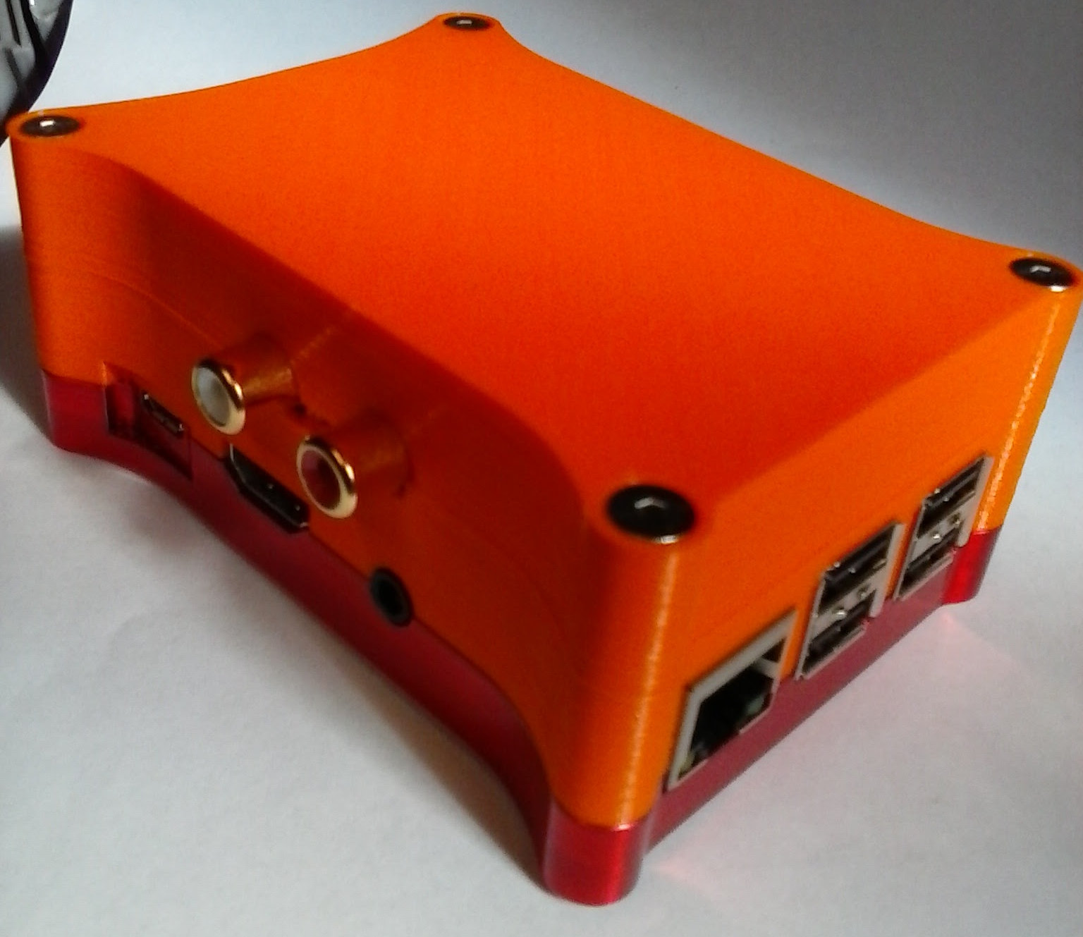HifiBerry DAC+ Case Finished 3D print