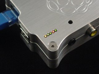 Raspberry Pi Case Fiber Optic LED 3