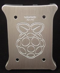 Raspberry Pi Case Custom Raspberry Logo