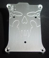 Raspberry Pi Case Top Skull