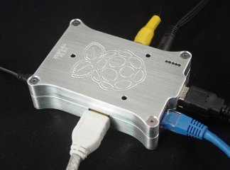 Raspberry Pi Case Wired Up 1