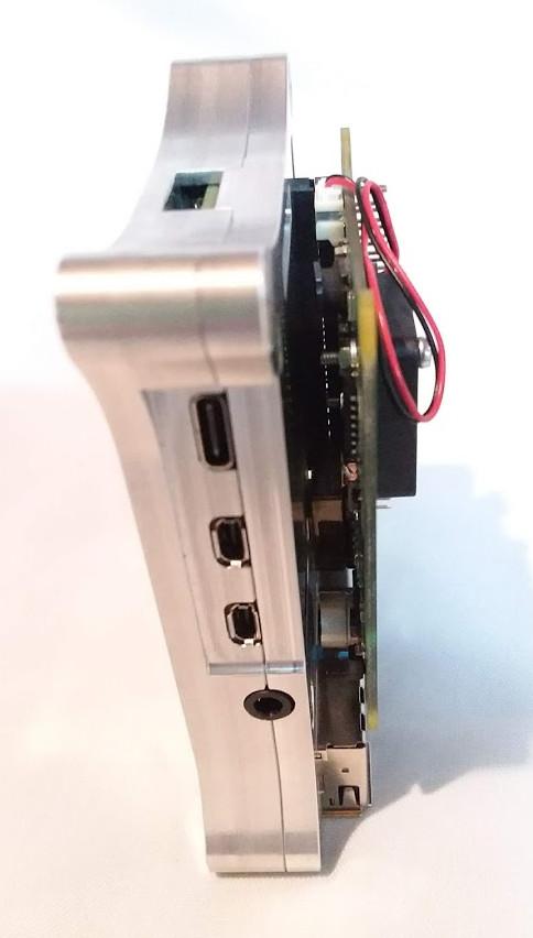 Raspberry Pi 4 Open Shield Case PoE Hat Clears