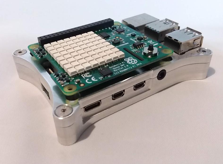 Raspberry Pi 4 Open Shield Case with SenseHAT